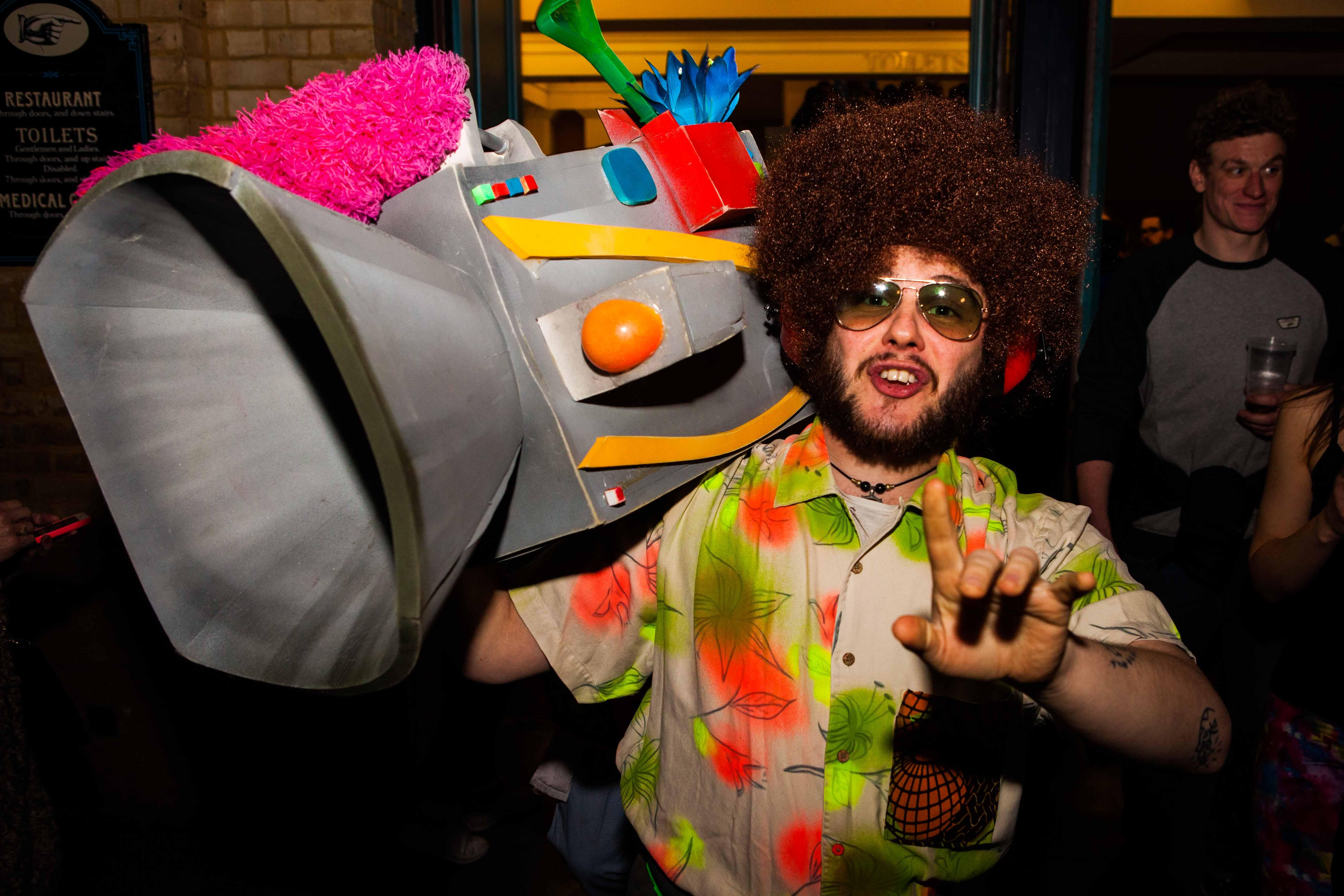 Fatboy Slim, Ally Pally and The Acid Converter. | Nicholas Ball